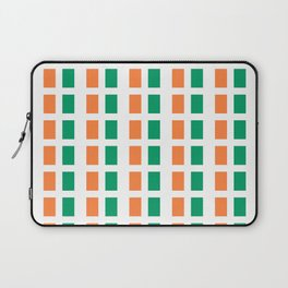 flag of ireland 2-ireland,eire,airlann,irish,gaelic,eriu,celtic,dublin,belfast,joyce,beckett Laptop Sleeve
