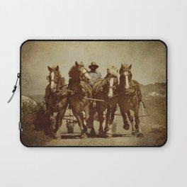 Team Of Horses Laptop Sleeve
