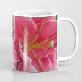 Stargazer Lilies (Digital Art)  Coffee Mug