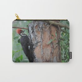 pileated woodpecker #3 Carry-All Pouch