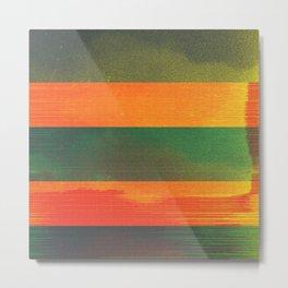 waves (01) Metal Print