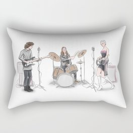 Music band Rectangular Pillow