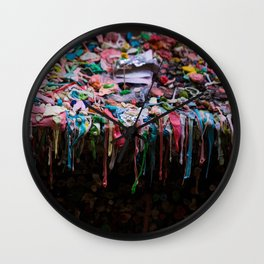 The Gum Wall, Seattle Wall Clock