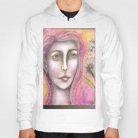 olivia joy Hoodies featuring Olivia by Art by Sandy & Mariah Gonyea