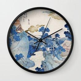 Utagawa Kuniyoshi's Asazawa Stream Remix Wall Clock