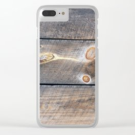 Barn G Clear iPhone Case