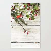 xmas Canvas Prints featuring Xmas by Ylenia Pizzetti
