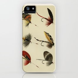 Lake Flies from Favorite Flies and Their Histories by Mary Orvis Marbury 1 iPhone Case