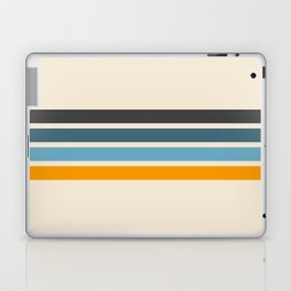 Vintage Retro Stripes Laptop & iPad Skin