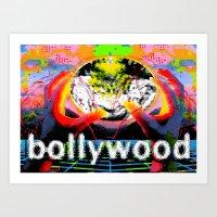cyberpunk Art Prints featuring Bollywood Cyberpunk by BOLLYWOOD