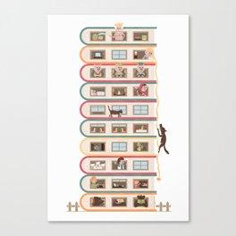 Ten Stories High Canvas Print