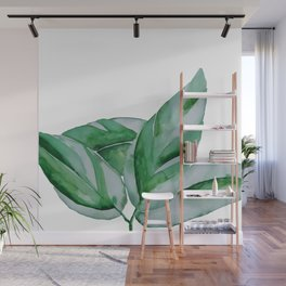 minimalist leaf Wall Mural
