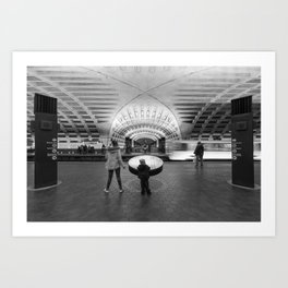 Looking for the Train Art Print