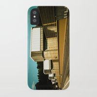 portugal iPhone & iPod Cases featuring Portugal Bridge by Mauricio Santana