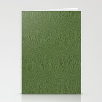 book cover Stationery Cards featuring Green Book Cover by Becky Nimoy