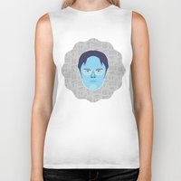 dwight schrute Biker Tanks featuring Dwight Schrute - The Office by Kuki