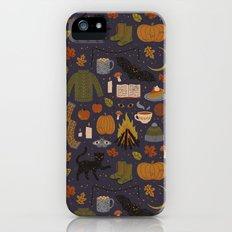 Autumn Nights iPhone SE Slim Case