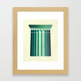 Doric Framed Art Print