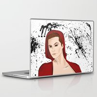 stiles stilinski Laptop & iPad Skins featuring Demon!Stiles by Caincarrots