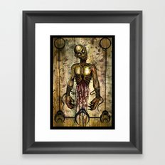 Gut Your Zombie Framed Art Print