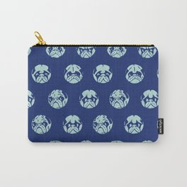 POLKA DOT PUG Carry-All Pouch