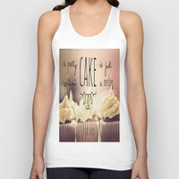 cake Tank Tops featuring Cake by Alyssa Love