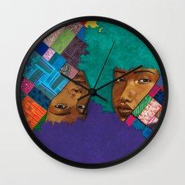 Duo/Gemini Wall Clock
