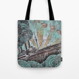 the boat wall Tote Bag
