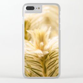 Glowing in sunlight golden plants Clear iPhone Case