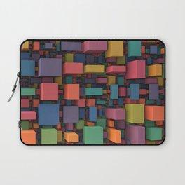 Random Cubes Laptop Sleeve