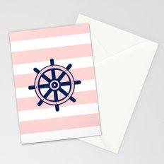 AFE Nautical Helm Wheel 2 Stationery Cards