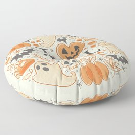 I Love Fall Floor Pillow