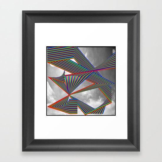 Highways of the Future Framed Art Print
