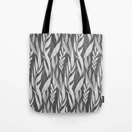 Watercolor Spring Leaves VI Tote Bag