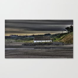 Cottage @ Laytown Beach Canvas Print