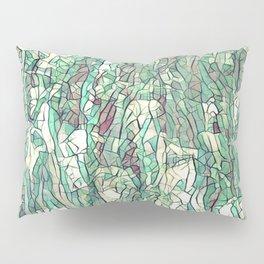 Abstract green Pillow Sham