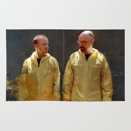 Walter White And Jesse Pinkman - Time To Cook Rug