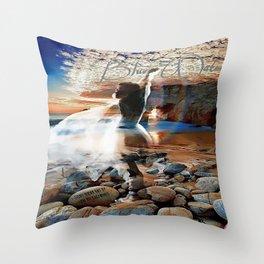 Stevie Nicks - Blue Water Throw Pillow