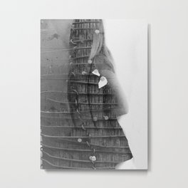 Suicide in Gloss Metal Print
