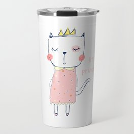 CAT CARTOON PRINCESS Travel Mug