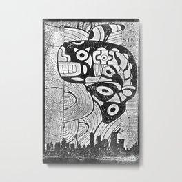 Huēyimichin Metal Print