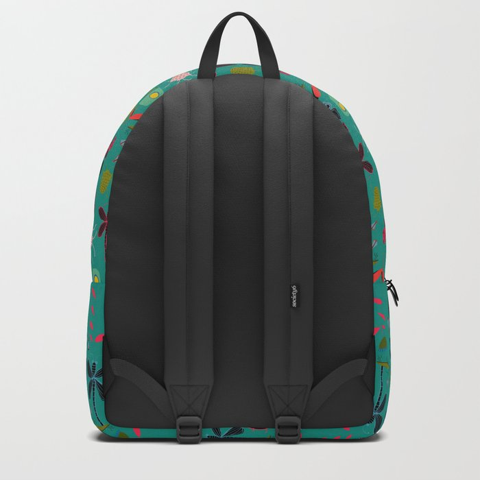 bugs and insects green Backpack