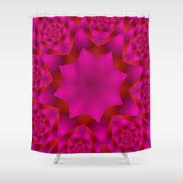 joy and energy -21- Shower Curtain