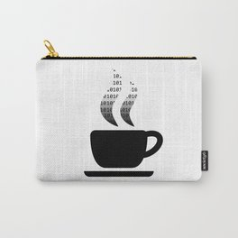 Coding Coffee Cup Carry-All Pouch