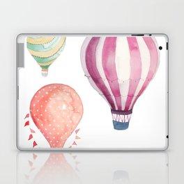 Hot Air Balloon watercolor Laptop & iPad Skin