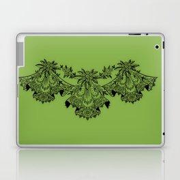 Vintage Lace Hankies Greenery Laptop & iPad Skin