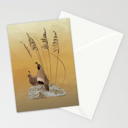 California Valley Quail Stationery Cards