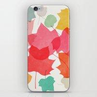 camus iPhone & iPod Skins featuring tulipifera 1 by Garima Dhawan