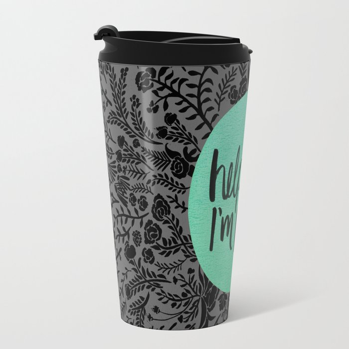 Help Me, I'm Poor. Travel Mug