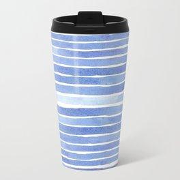 Sailing watercolor pattern Travel Mug